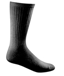 4Pk Cotton Duty Sock Black