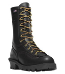 Flashpoint II Wildfire Boots 10 All Leather Black