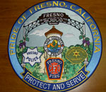 "Pride of Fresno 12"" patch"