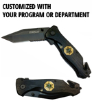 Tactical Response Knife by Marlin, Customized With Your Program