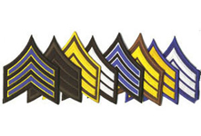 Cloth Sergeant Chevrons - PAIR