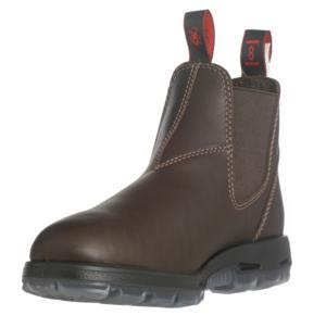 Boot - UNPU 'Great Barrier' Water Resistant REDBACK Boots - BROWN