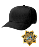 CDCR Academy Cap - Star Badge included and sewn on.