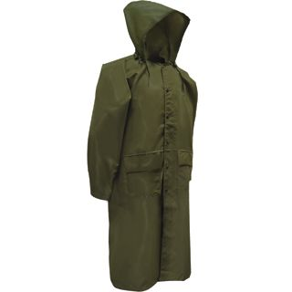 Police/CDCR Forest Green Raincoat