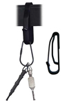 Key Ring Holder  Fits Up To 2-1/4 Wide Duty Belt
