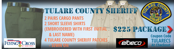 Tulare County Sheriff Uniform Package
