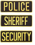 Front & Back ID Patches