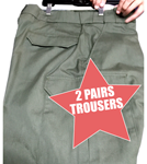 2 Pairs of CDCR Academy Pants PROPPER