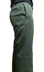 Men's Class B Pant - 100% Polyester, w/ Club Pockets, FOREST GREEN