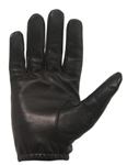 Duty Gloves - Leather Hairsheep Black
