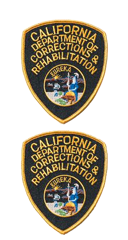 In Store | BC1R | CDCR Shoulder Patches - 2 Pack| CDCR Uniforms