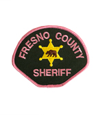 Fresno County Sheriff Pink Patch