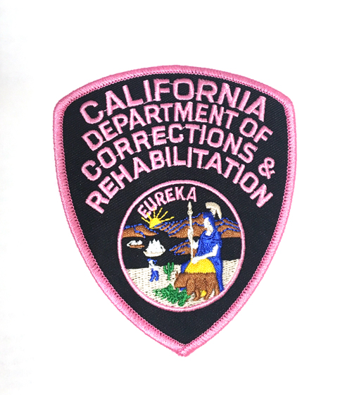 Pink CDCR Shoulder Patches