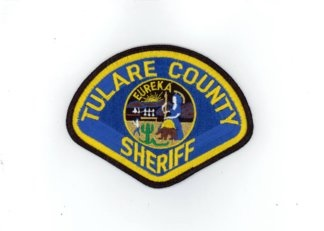 Tulare county sheriff shoulder patch
