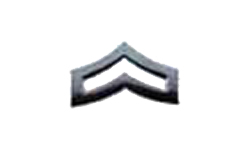 Corporal Collar Pin - PAIR