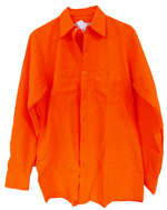 Search and Rescue Hi-Viz Fluorescent Orange LS Shirt
