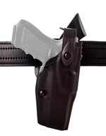 ALS®/SLS Mid-Ride, Level III Retention™, Duty Holster - NPS - SPECIAL ORDER - Cordovan, Plain Finish